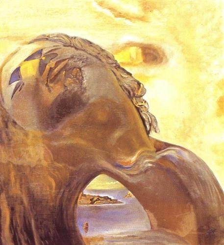 Othello Dreaming Venice - Salvador Dali