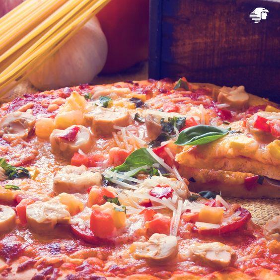 #AMDeseoViajar a disfrutar una pizza al estilo neoyorquino.