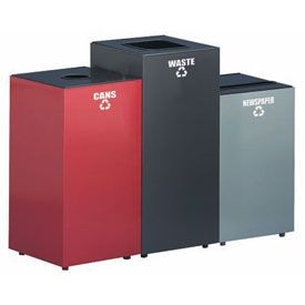Square Steel Recycling Container
