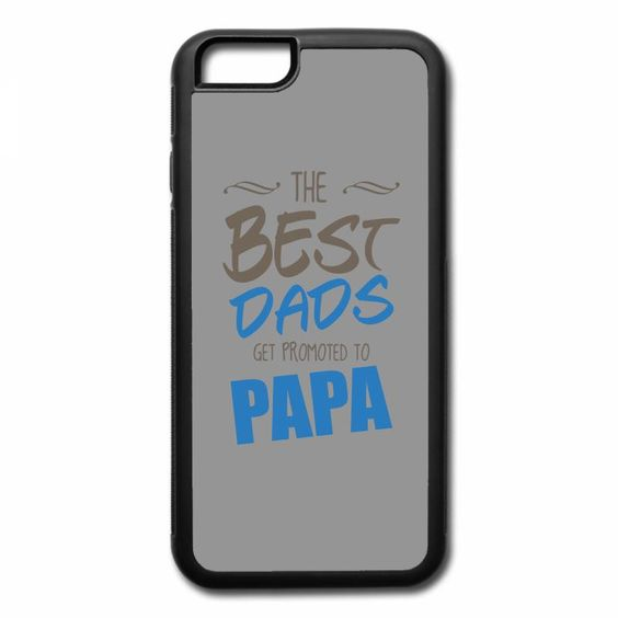 great dads get promoted to papa 2 iPhone 7 Plus Case