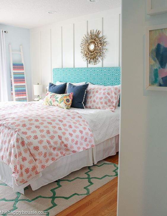 Navy Teal Master Bedroom The Happy Teal House Coral Bedrooms Lake