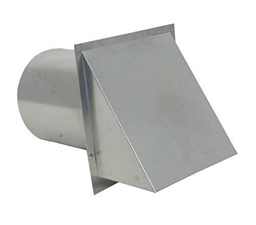 Hooded Wall Vent With Screen And Damper Galvanized 10 Inch Review Wall Vents Aluminum Wall Galvanized