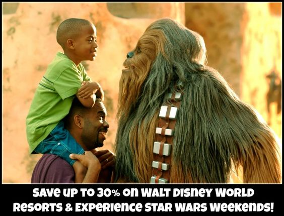 Save up to 30% on resorts during Star Wars Weekends at Walt Disney World!  #DHS  #disneydiscount #starwars