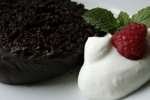 Mindy's Amazing Chocolate Fever Cake. It's crazy good! A go to chocolate cake for sure.