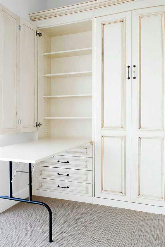 ein tisch im schrank f r zu hause for our home pinterest. Black Bedroom Furniture Sets. Home Design Ideas
