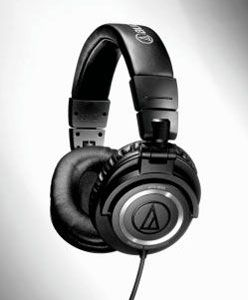 Just ordered these bad boys. Audio-Technica ATH-M50 headphones