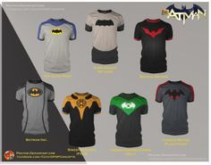 Batman Shirts! by prathik on deviantART