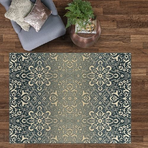 Maples Asher 5 X 7 Area Rug Area Rugs Rugs Medallion Design