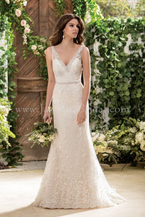 Jasmine Bridal Collection Style F181055 in Morganite