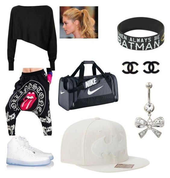 """Dance Class or.2"" by ciy2020 ❤ liked on Polyvore featuring Crea Concept, NIKE and Champion"