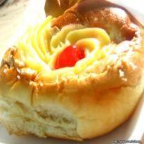Receita de Pão Doce com Cobertura de Creme de Padaria