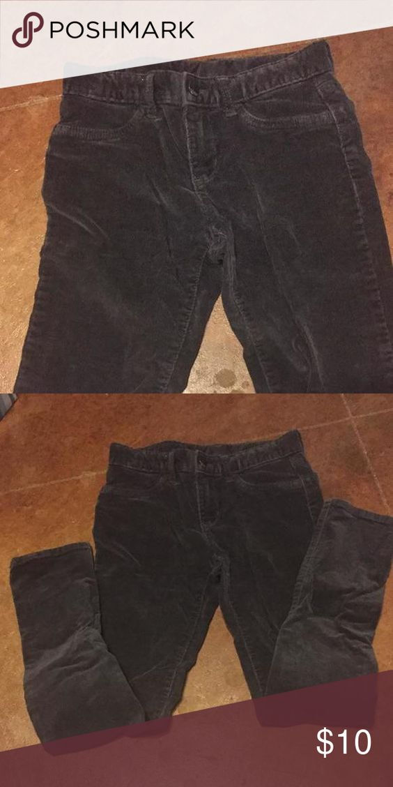 Corduroy jeans Dark grey Gap kids corduroy jeans. Barely worn. Great condition! Adjustable waist Gap Kids Dresses