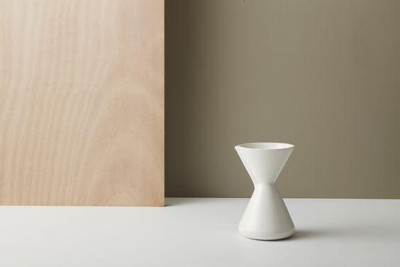 gidon bing ceramics large coffee percolator