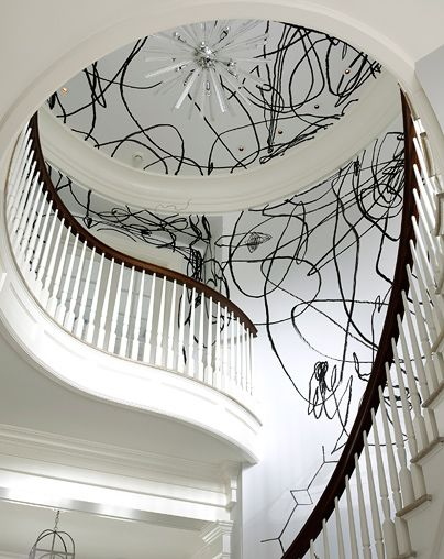 Staircase. Anthony Baratta design. #design #decorate #home