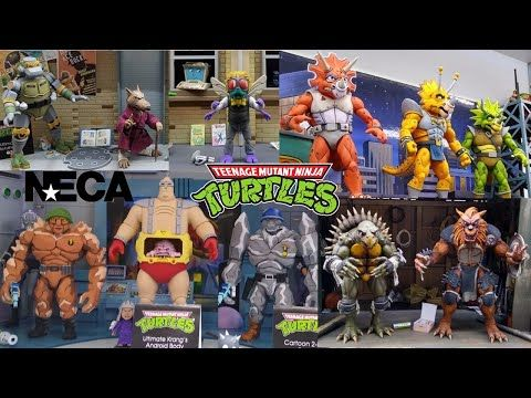 Toyfair 2020 Neca Tmnt Teenage Mutant Ninja Turtles Reveals Triceratons Splinter Baxter Stockman Youtu In 2020 Teenage Mutant Ninja Turtles Tmnt Teenage Mutant Ninja