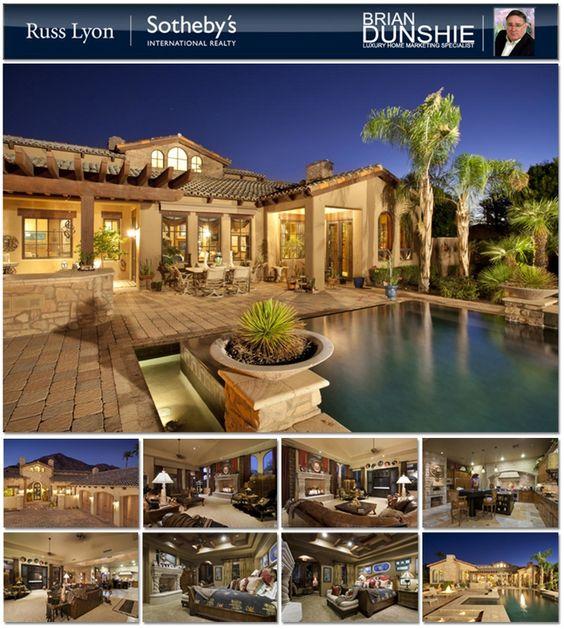 Phoenix 39 s famed arcadia community luxury mediterranean for Mediterranean homes for sale