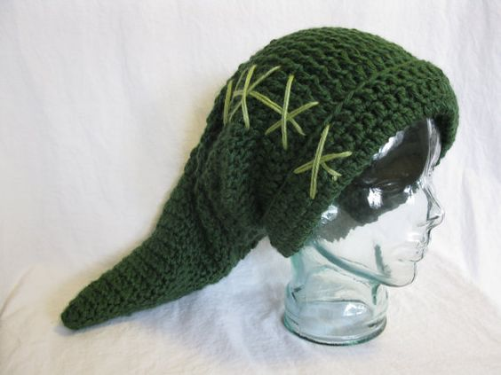 Link Crochet Pattern Zelda : Link hat, Legend of Zelda, handmade crochet Child ...