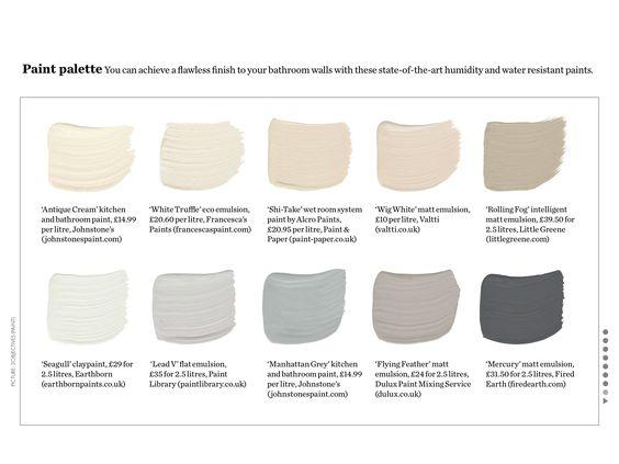 Neutral Cool Paint Colors Home Inspiration Pinterest