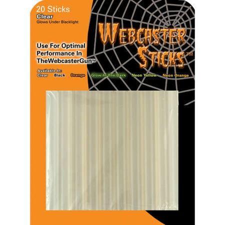 Halloween Webcaster Clear Web Stick - Walmart.com