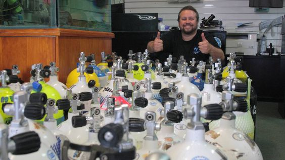 Local scuba diving shop Coastal Water Dive has observed a significant turning point this month after fear of the ocean almost put them out of business about three years ago.