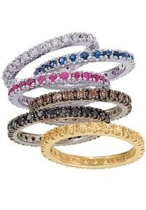 There are so many options and colors for wedding bands out there