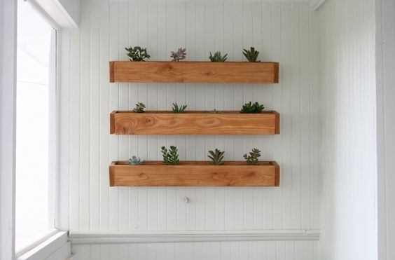 DIY Cheap & Easy Planter Boxes - perfect for baby succulents!