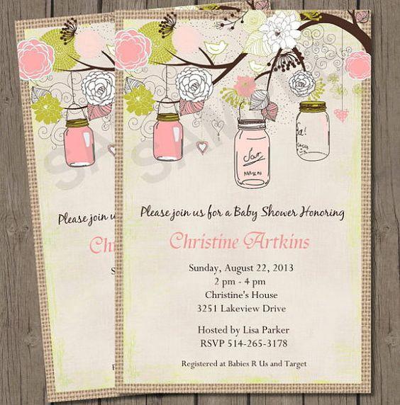 vintage baby shower invitation vintage by treasuredmoments, Baby shower invitation