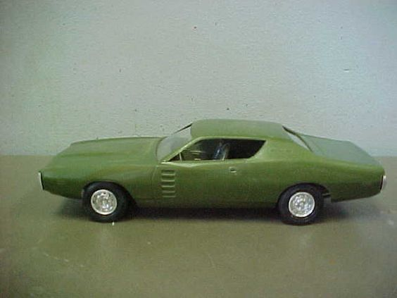 1972 Dodge Charger Coupe promo model
