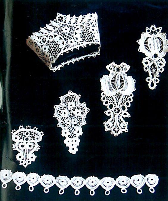 Csetneki (Gömör megye) csipke. In: Fürge Ujjak. 2002. 46. évf. 11-12. sz. p. 131.