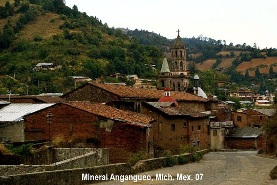 Mineral de Angangueo, Michoacán, México