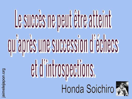 Citation de Soichiro Honda