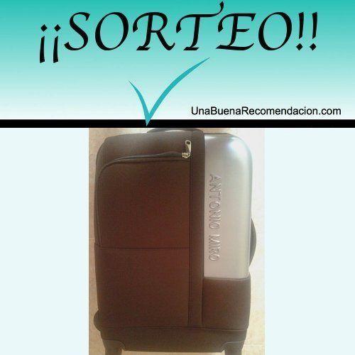Sorteo Maleta Antonio Miró  http://www.unabuenarecomendacion.com/index.php/sorteos/4970-sorteamos-una-maleta-antonio-miro