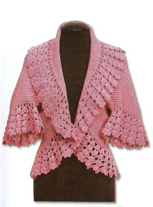 Free Crochet Patterns For Ladies Jackets : Romances, Free crochet and Jackets on Pinterest