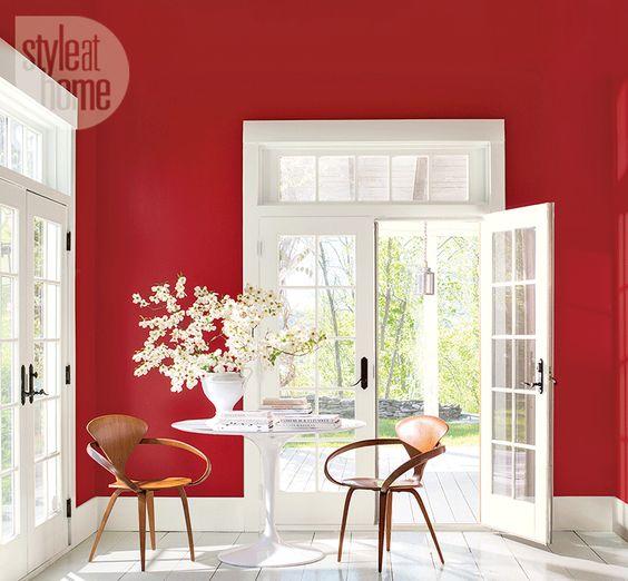 Crimson - 2018 top paint color