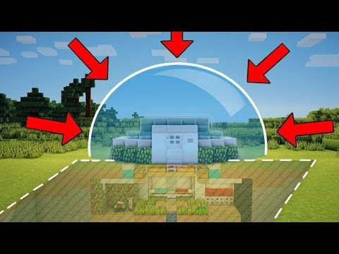 Minecraft How To Build A Mob Proof Starter Base Tutorial Safe Redstone House Minecraft Servers Web Msw Ch Minecraft Minecraft Plans Minecraft Houses