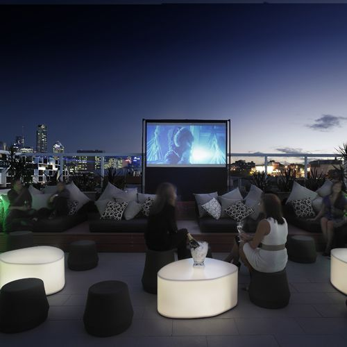 LIMES HOTEL -  Limes Roof Top Bar and Cinema is custom-designed for relaxation and enjoyment.