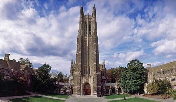 duke...where i went to seminary