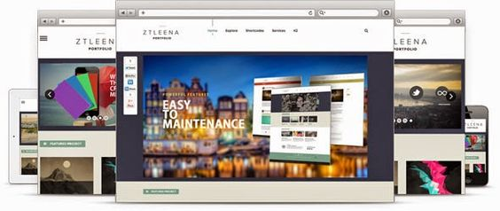 ZT LEENA - ZOOTEMPLATE PORTFOLIO JOOMLA TEMPLATE | Download any themes free