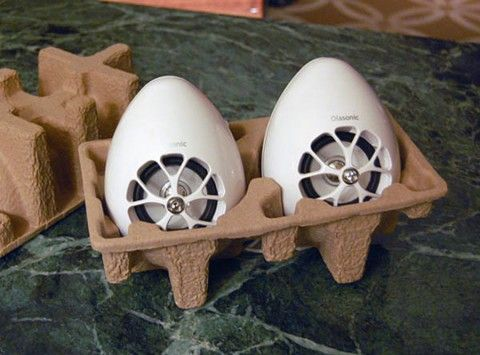 Olasonic TW-S7 - Egg-Shaped USB Speakers | Highsnobiety