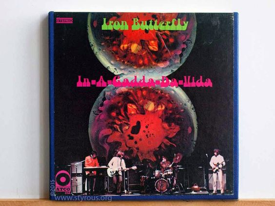 The Styrous® Viewfinder: 101 Reel-to-Reel Tapes 102: Iron Butterfly ~ In-A-Gadda-Da-Vida