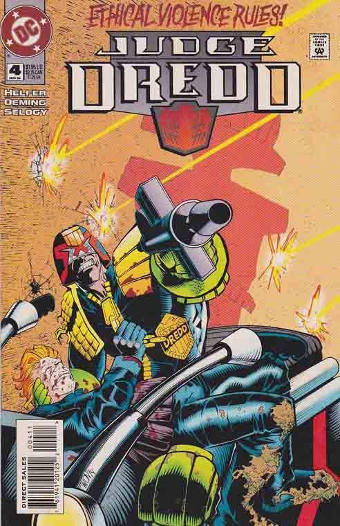 DC Comics Judge Dredd #4 #dccomics #judgedredd