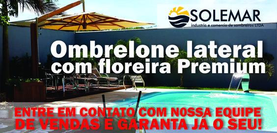 Os melhores Ombrelones do Brasil! Solemar Indústria e Comércio de Ombrelones Ltda. Cel: (47) 8817-0468. Fone (47) 3382-7615 - Fone Fax (47) 3382-4743 http://solemarombrelones.ind.br/