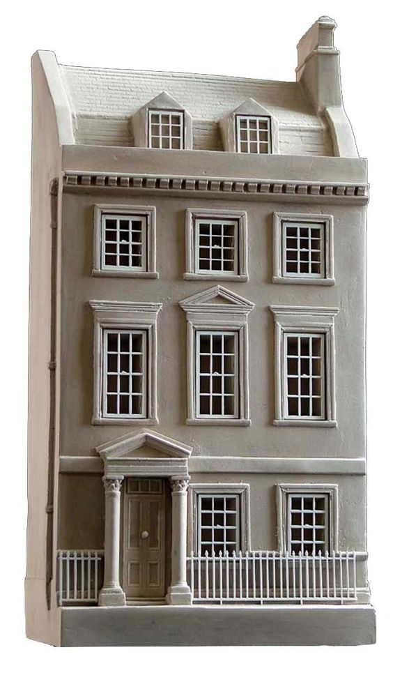 Jane Austen House Bookend.