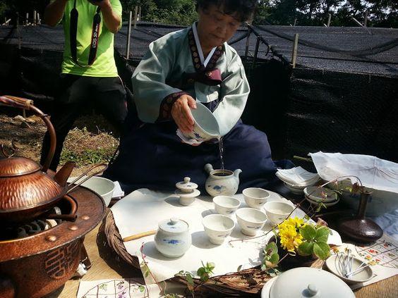 The Traditional Korean Tea ceremony