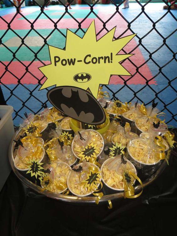 Batman / Superhero Training Birthday Party Ideas   Photo 2 of 20   Catch My Party
