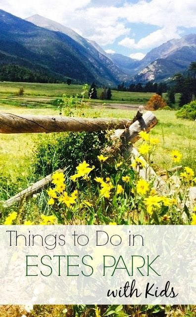 From hiking to horseback riding to kayaking on Lake Estes, there's a lot to do as a family in and around Estes Park.