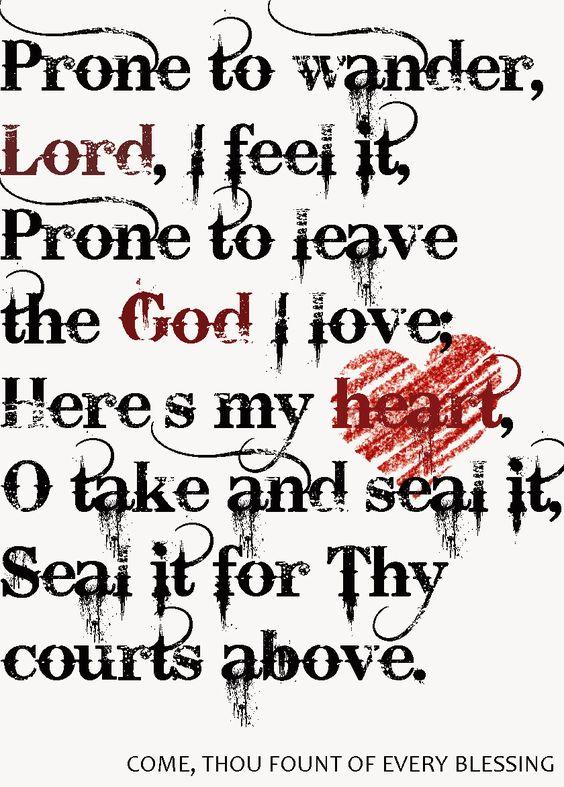Awesome lyrics...great hymn.