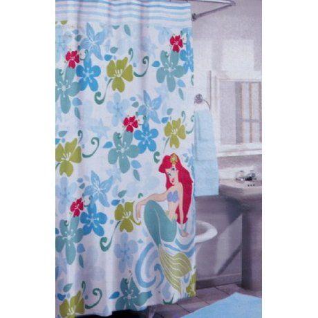 Curtains Ideas ariel shower curtain : Disney Ariel little mermaid shower curtain | HOME - Bathroom: Kids ...