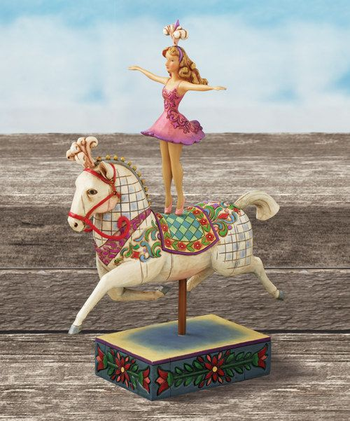 Inspire smiles with a figurine bound to bring whimsy and wonder. Made to be displayed, it's a darling addition to a carefully curated collection.6.5'' W x 9'' H x 3.75'' DIron / pewter / stone / resinImported