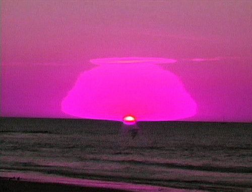 80's sunset